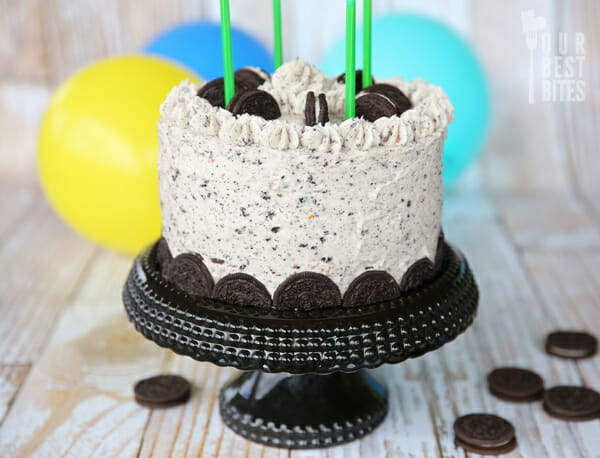 Chocolate Fudge Cookies Cream Cake