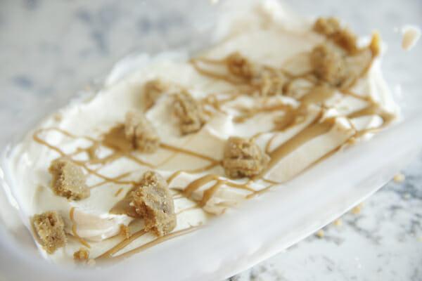 Cookies in ice cream