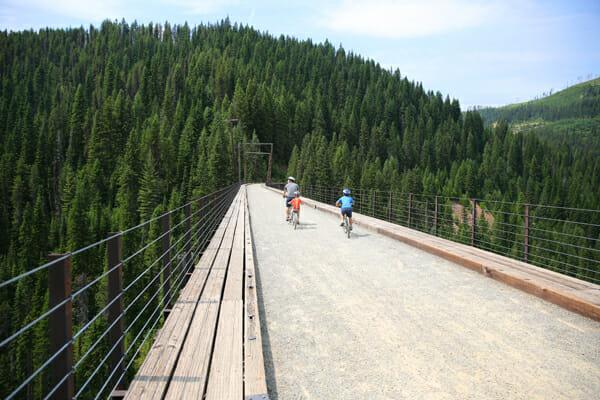 bike on tressle