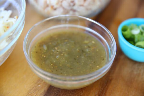 our best bites green salsa