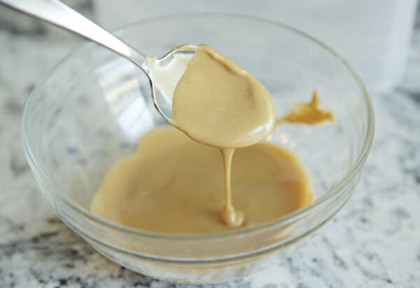 softened peanut butter