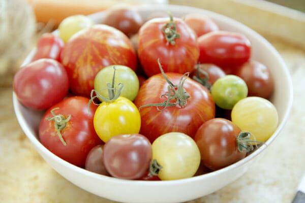 heirloom tomaotes