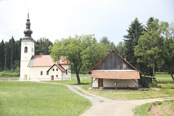 Dusanka's house
