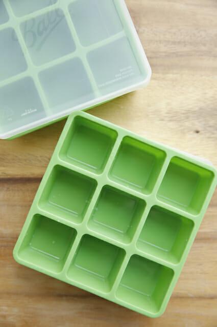 Frozen herb starter Tray