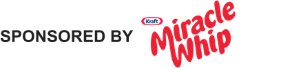 Kraft Miracle Whip SPONSORED BY - Bottom Logo