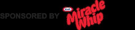 Kraft Miracle Whip SPONSORED BY - Bottom Logo