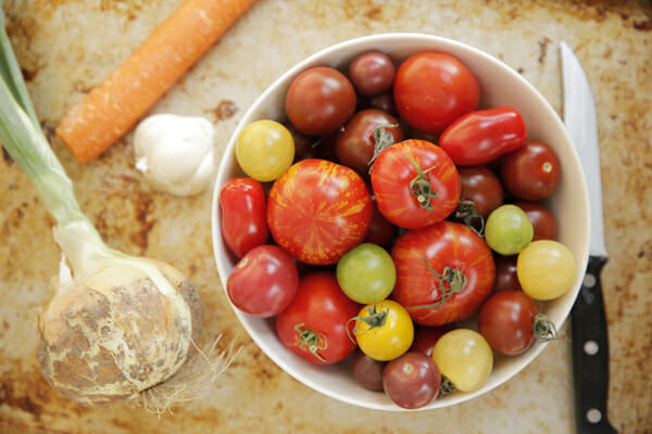 You can use any variety of tomato in this recipe, and you don't need ...