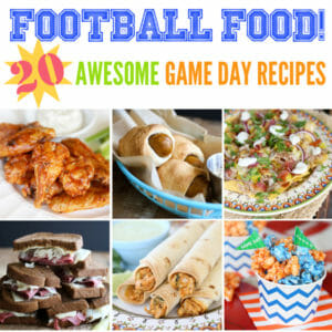 20 Awesome Game Day Eats!