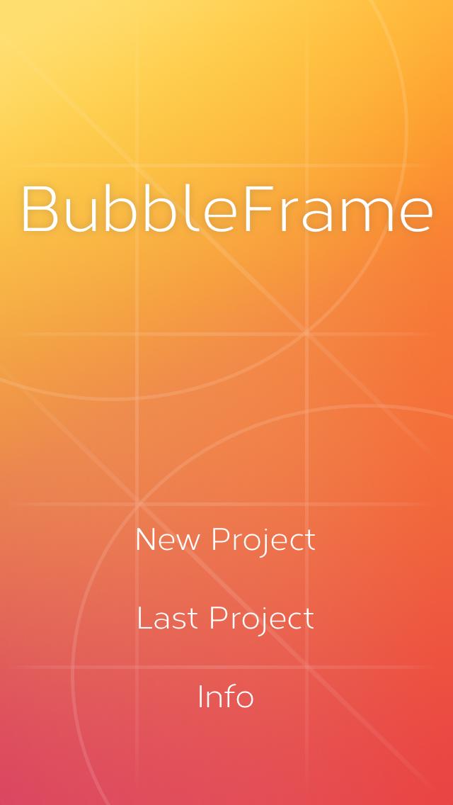 Bubble Fram