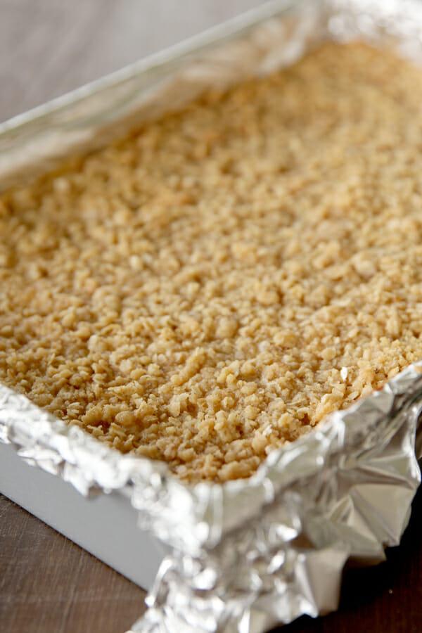 Caramel Apple Cheesecake_Baked Streusel
