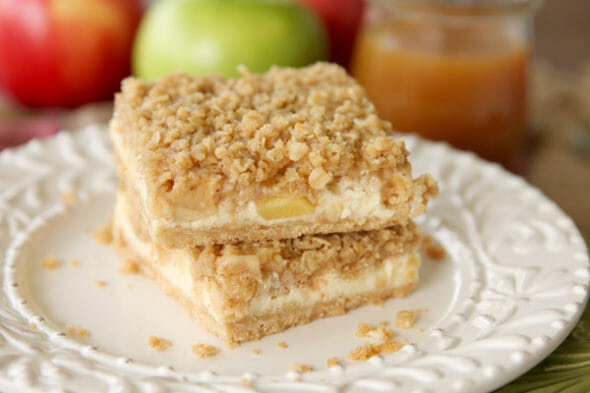 Caramel Apple Cheesecake_Bars Pre Caramel