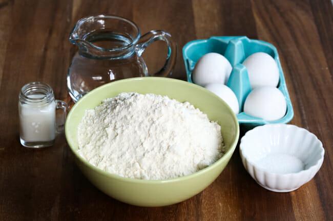 homemade egg noodles ingredients