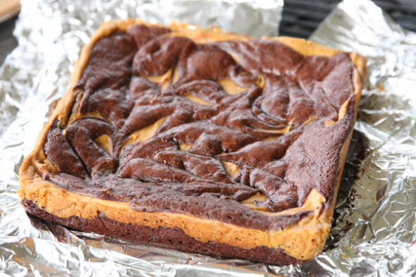 Pumpkin Brownies_Baked Brownies