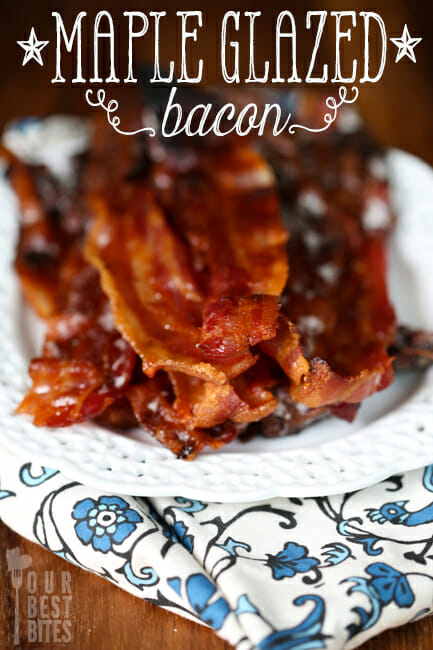 Maple Glazed Bacon from Our Best Bites