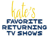 Kate's Favorite Returning Fall TV Shows 2014