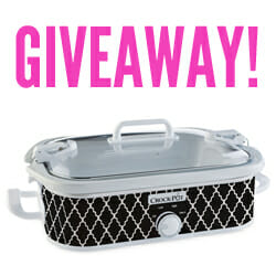 Crock-Pot Slow Cooker Giveaway