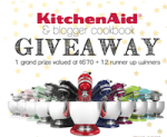 KitchenAid & Blogger Cookbook Giveaway!