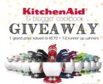 KitchenAid & Blogger Cookbook Giveaway!