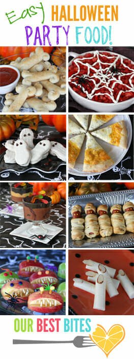 Tons of easy Halloween food ideas from Our Best Bites!