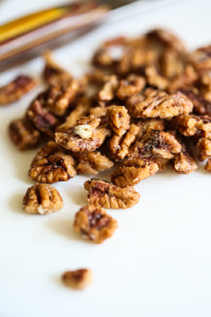 Holiday Fried Pecans