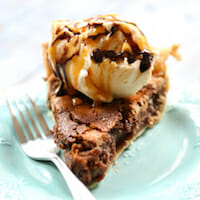 Caramel Chocolate Pecan Pie