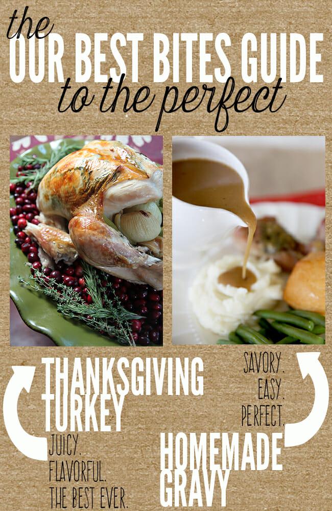 perfect thanksgiving turkey and gravy
