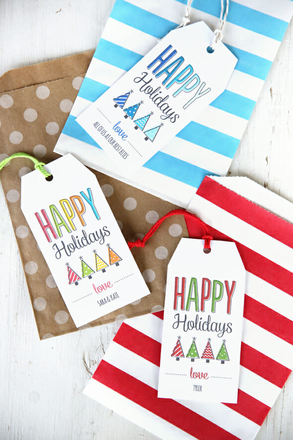 Printable-gift-tags from Our Best Bites