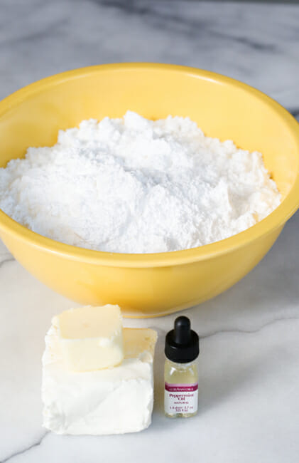 easy cream cheese mints ingredients