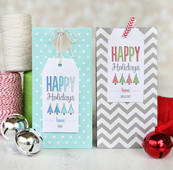 free-gift-tags-on-gift-bags from our best bites