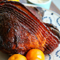 orange brown sugar ham-7square