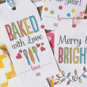 Free Holiday Printable Gift Tags