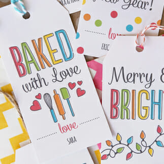 Free Holiday Printable Gift Tags