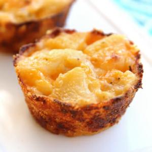 Crispy Cheesy Potato Cups