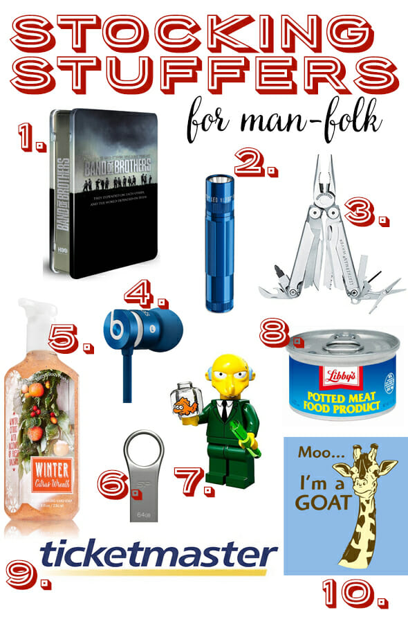 Manly stocking stuffers our best bites for Inexpensive stocking stuffers for adults