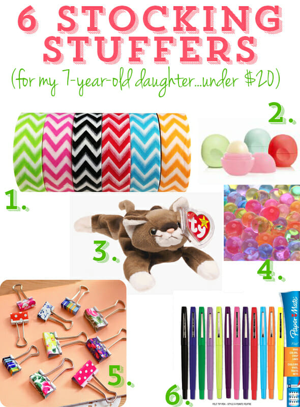 Christmas Stocking Stuffers stocking stuffers under $20 for pre-tween girls - our best bites