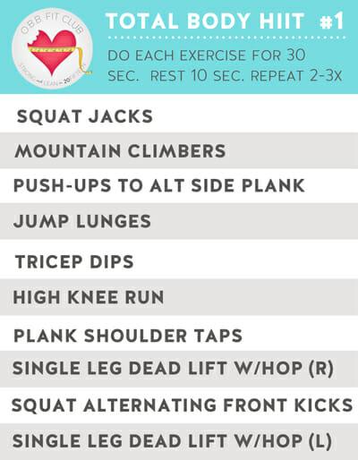 OBB workout Preview
