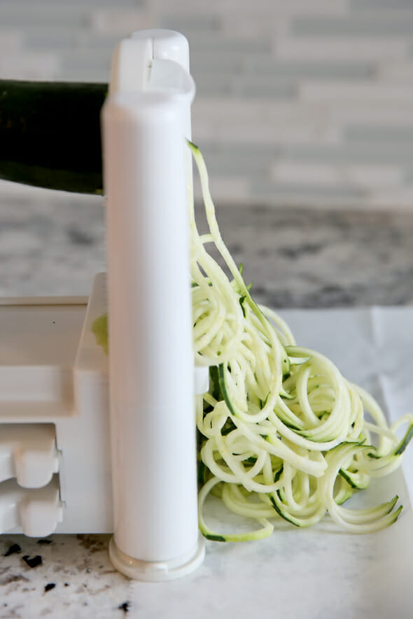 Zucchini Zoodles