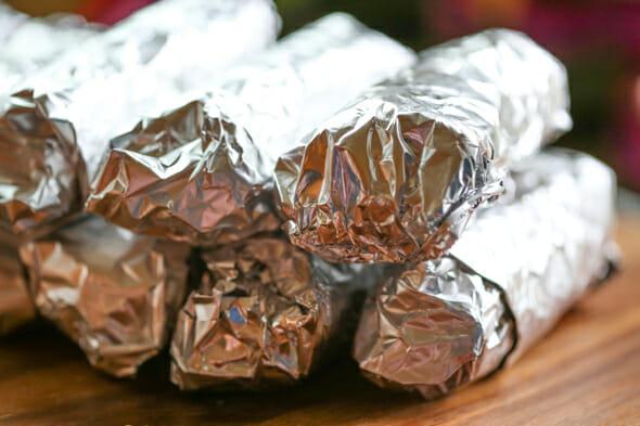 Freezer Breakfast Burritos from Our Best Bites