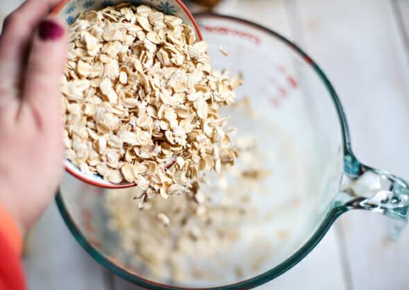 overnight raspberry almond refrigerator oatmeal-2