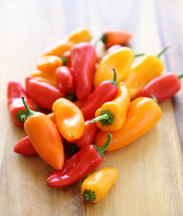 Baby Sweet Peppers