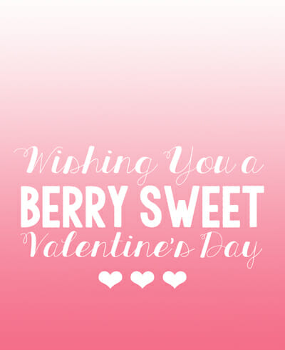 Berry Sweet from Our Best Bites