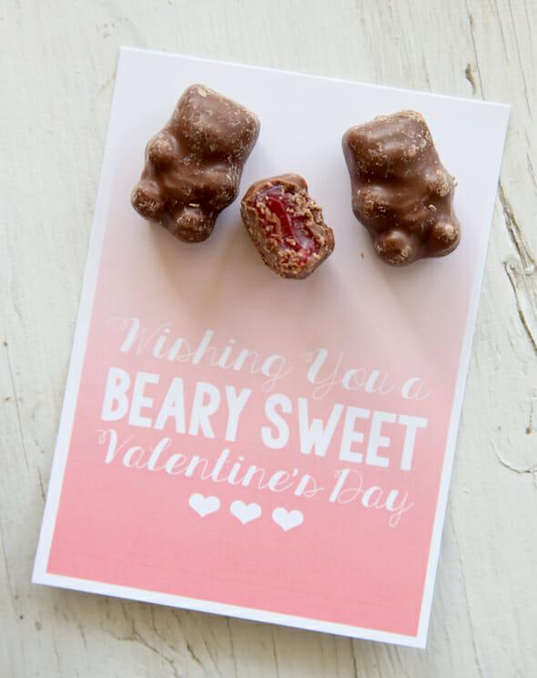 Cinnamon Bears Valentine
