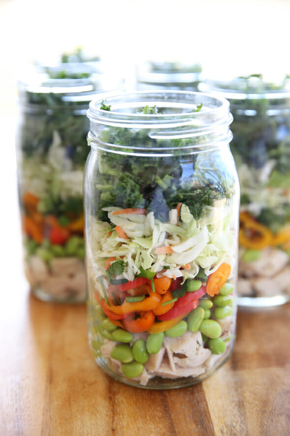 Layerd Salad Jar