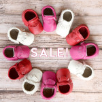 Leather Baby Moccasins Sale!