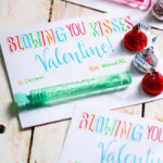 Bubble Valentines {Blowing You Kisses!}