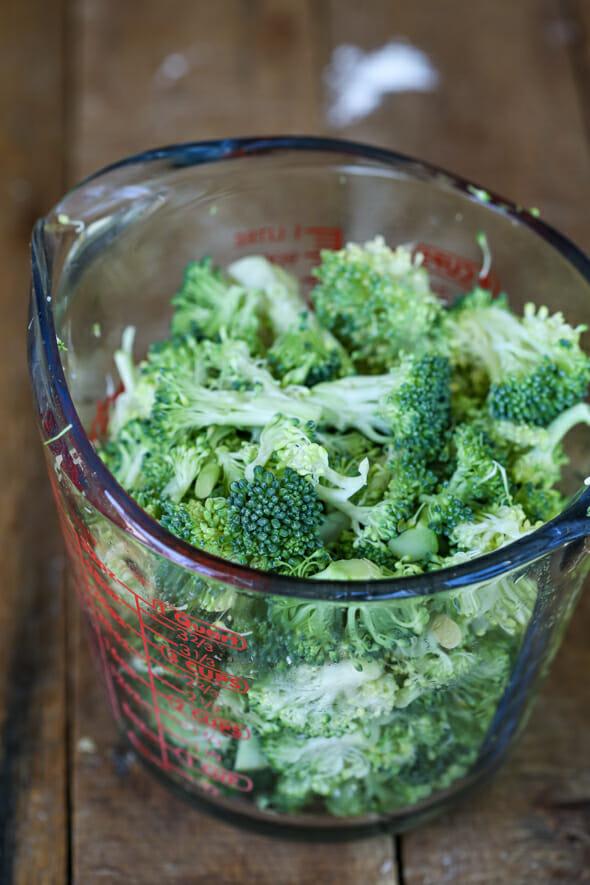 cheesy broccoli chicken casserole broccoli florets