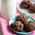 No-Bake Cookies (with Chocolate, Coconut, & Cinnamon)