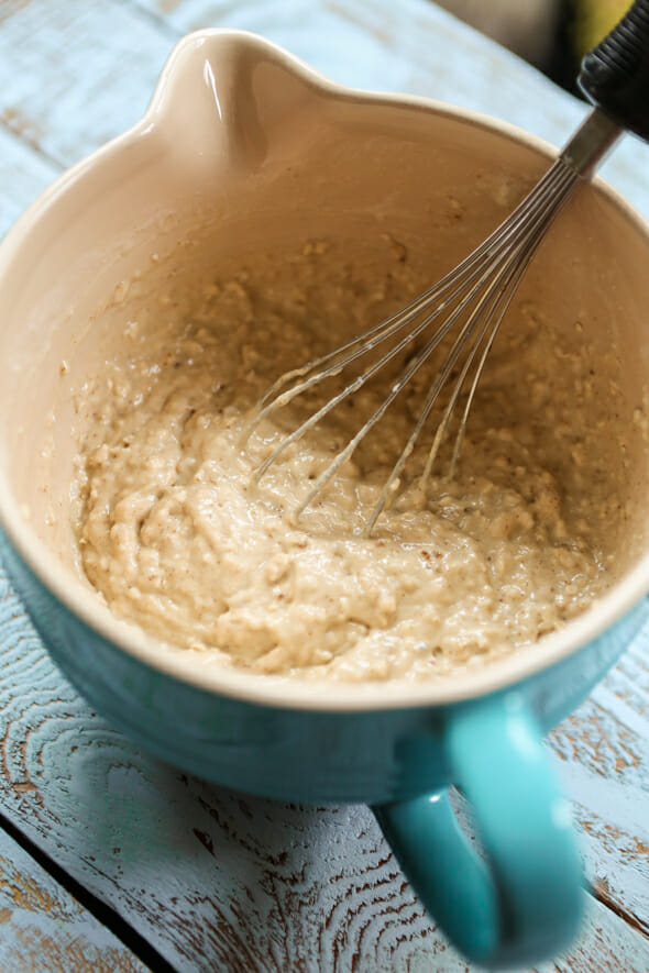 oatmeal pancakes batter