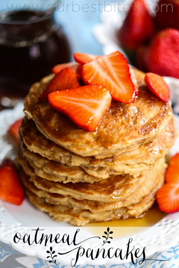 Oatmeal Pancakes from Our Best Bites