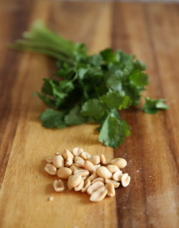 peanuts and Cilantro